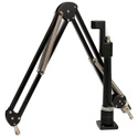 O.C. White ProBoom Elite Mic Arm & Riser - Black - Bstock - Scuffed and Scratched