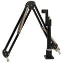 O.C. White ProBoom Elite Mic Arm & Riser - Black - Bstock - Scuffed and Scratched