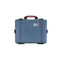 Portabrace PB-2650E Airtight Hard Case with Wheels - Large - Blue