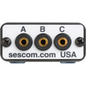 Sescom SES-AB-SWITCH Flip2 iPod/MP3 Player 3.5mm Stereo Audio A/B Switch