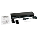 Tripp Lite B043-DUA8-SL 8-Port Rackmount DVI USB KVM Switch w/ Audio 2-Port USB Hub