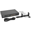 Tripp Lite NGS8C2 8 10/100/1000Mbps Port Gigabit L2 Web-Smart Managed Switch - 2 Dedicated Gigabit SFP Slots - 20 Gbps