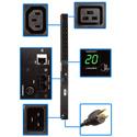 Tripp Lite PDUMNV20HV2 PDU Monitored 200V-240V 20A 18 C13; 2 C19 C20 Vertical 0URM