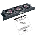 Tripp Lite SRFAN1U SmartRack 1U Fan Tray 3 120V High-Performance Fans 210 CFM 5-15P Plug
