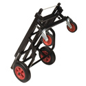 Ultimate Support JamStands JS-KC90 Karma Series Adjustable Profesional Transport Cart - Medium Duty