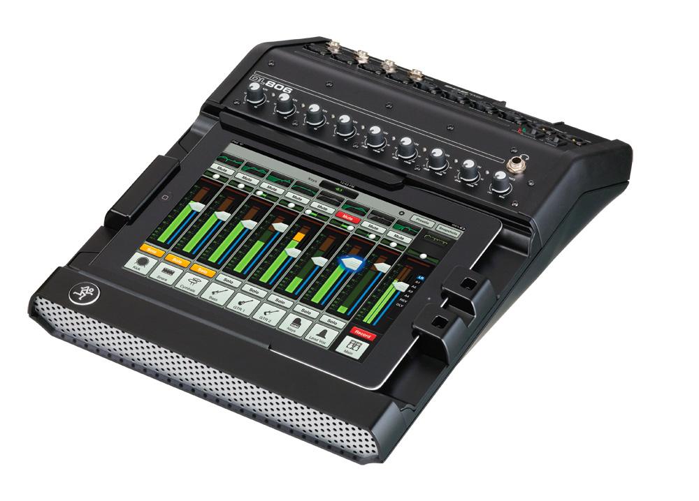 mackie dl806 digital live sound mixer lightning. Black Bedroom Furniture Sets. Home Design Ideas