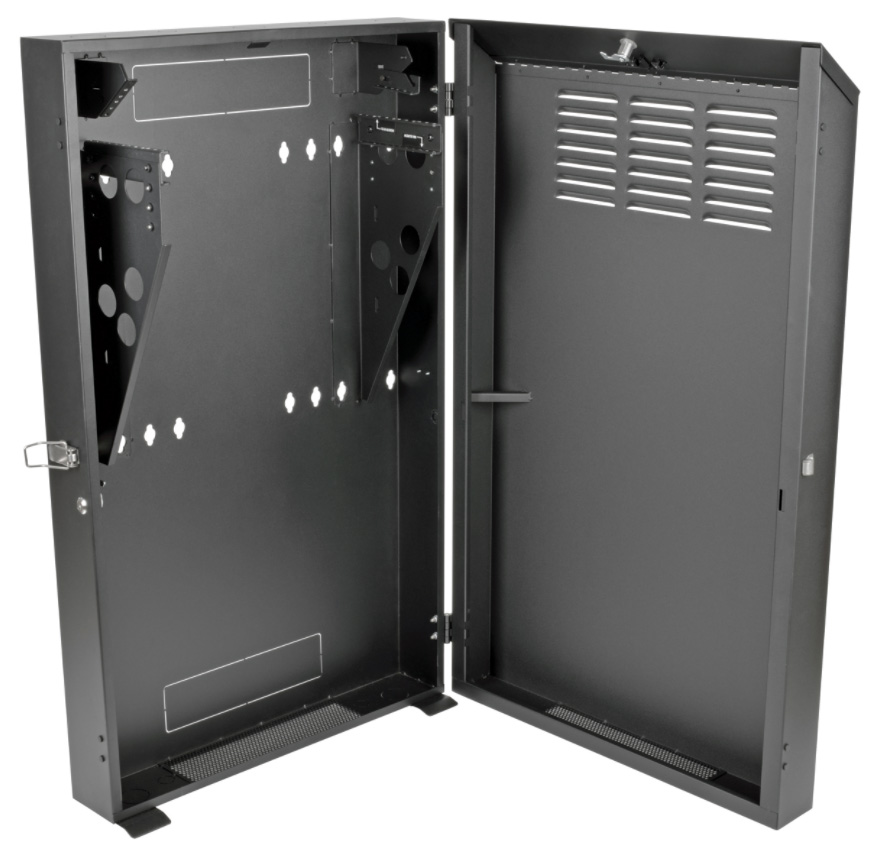 Rack Mount Enclosures : Tripp lite srwf u smartrack low profile vertical