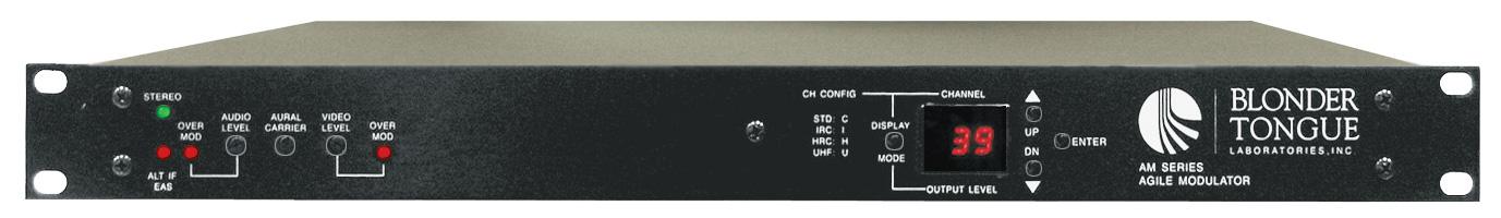 Blonder Tongue AM-60-860 54-806 MHz Agile Audio/Video Modulator AM-60-860