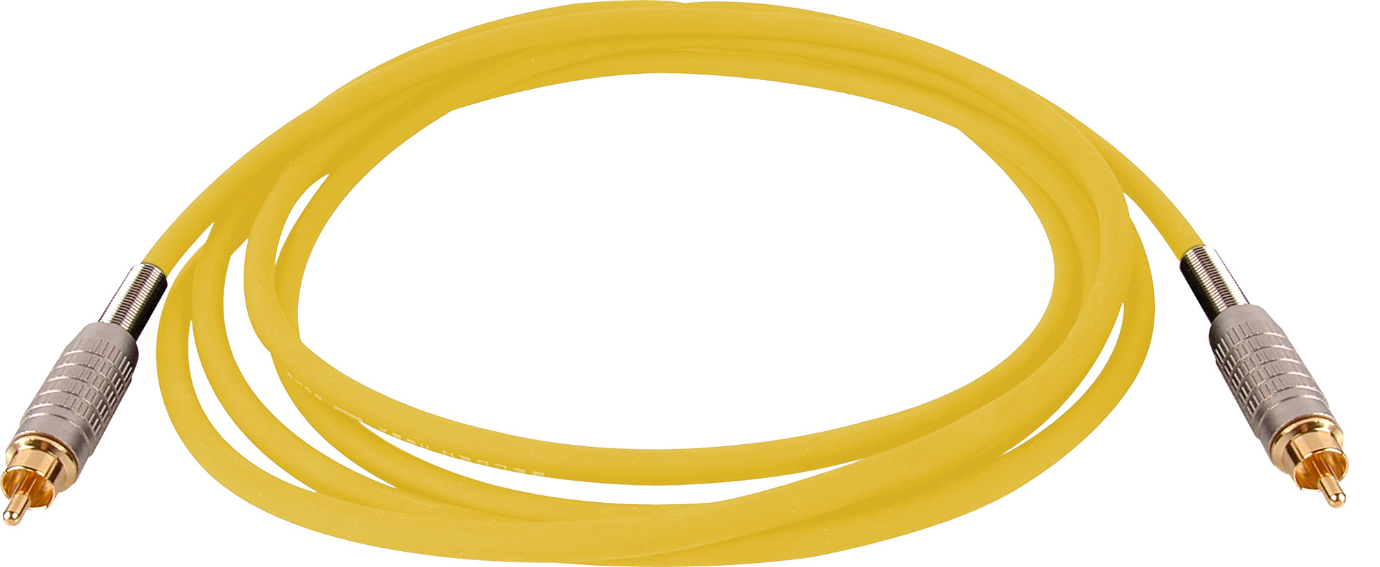 Belden Audio Cable Rca-Rca -10ft- Yellow BSC10RRYW
