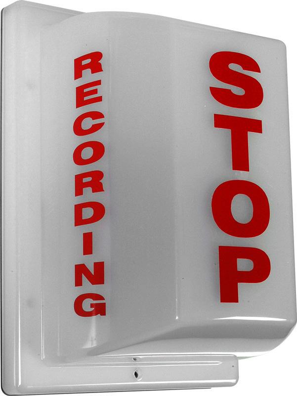Triple Side Non-Flashing Light - Stop: Recording FSL-2