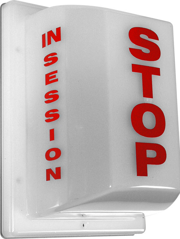 Triple Side Non-Flashing Light - Stop: In Session FSL-3
