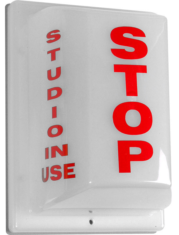 Triple Side Non-Flashing Light - Stop: Studio In Use FSL-4