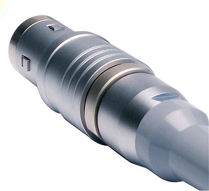 Lemo 4A FXC.4A.675.CTCC13 Cable Mount Triax Plug for Belden 9232