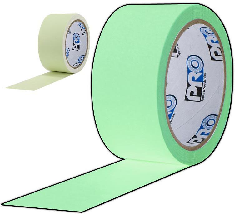 Glow Tape Luminescent 1 Inch x 10 Yard Roll GLOW-3