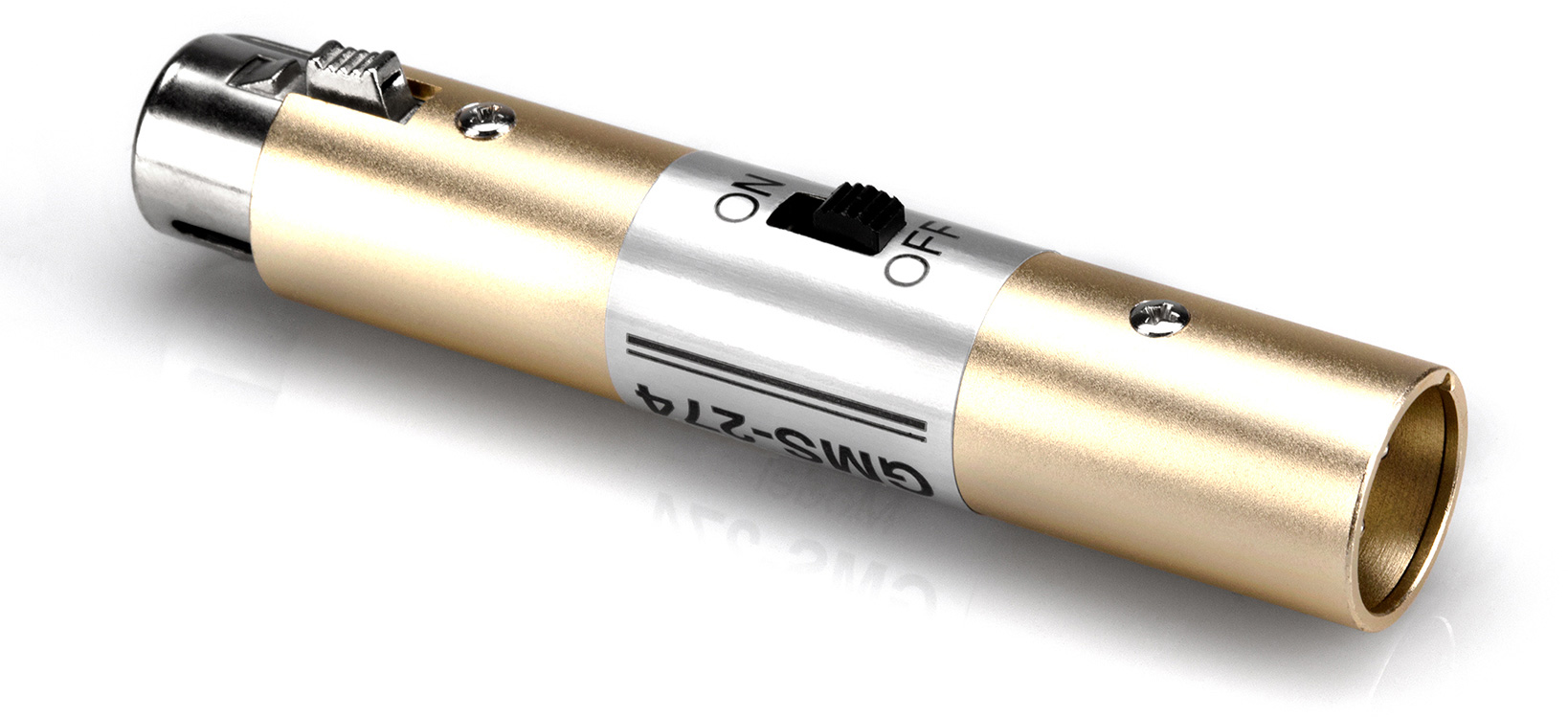 Hosa XLR(F) - XLR(M) On-Off Switch GMS-274
