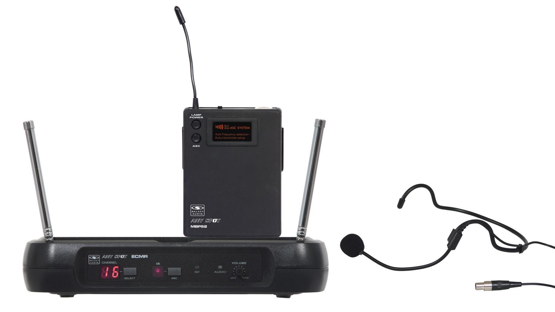 Galaxy Audio ECMR/52HSD ECM Headset System Freq CODE D GXY-ECMR-52HSD