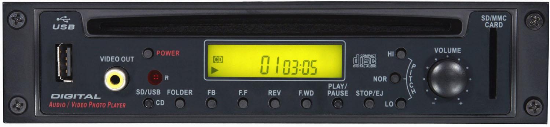Galaxy Audio RM-CDV Graphic CD Player with Remote GXY-RM-CDV
