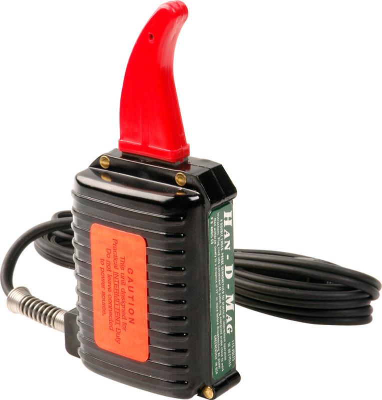 RB Annis 220-S (Short) Han-D-Mag 2 1/4 Inch 220V Demagnetizer