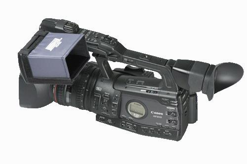 Hoodman HD450 4 Inch HD Camcorder Hood for Canon XF Camcorder Series -