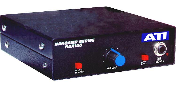 ATI Single Channel Stereo Headphone Amplifier HDA100