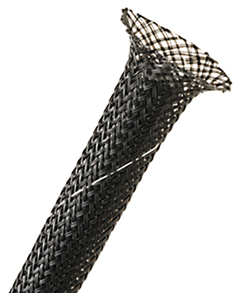 1-1/4In Halar Expandable Tubing Black 50 Feet HT6X-50-BK