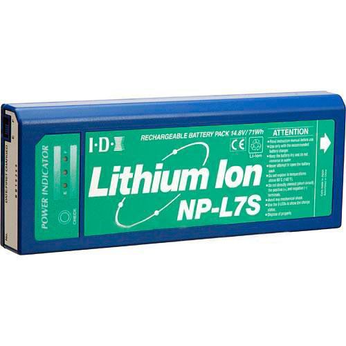 IDX NP-L7S 71Wh 14.8V Lithium Ion NP Style Battery w/3 LED Power Indic