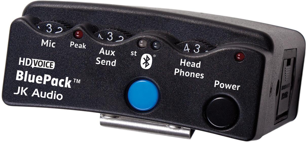 JK Audio BluePack Wireless Interview Tool JK-BLUEPACK