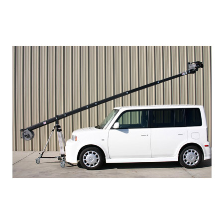 JonyJib2 18 Foot Camera Jib Arm with Rear Control Center and 100mm Mou