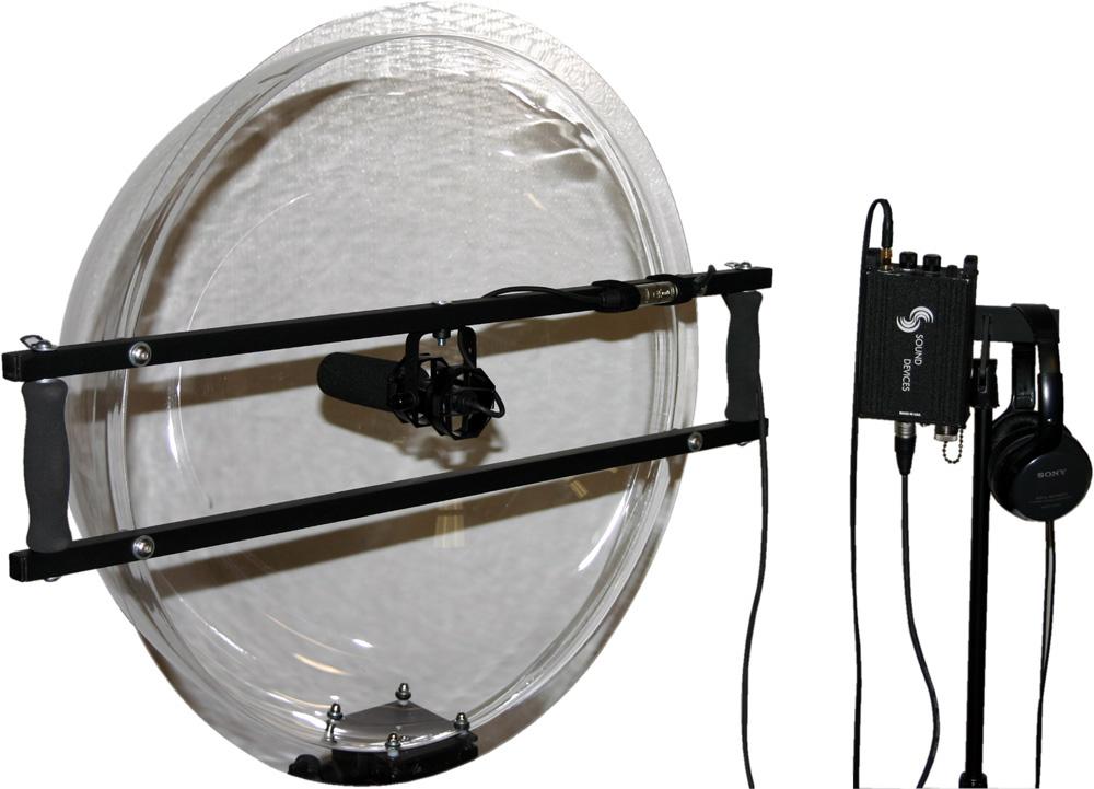 JonyShot Parabolic 24In Clear Acrylic Dome w/Isolated Mic Mount (Mic N