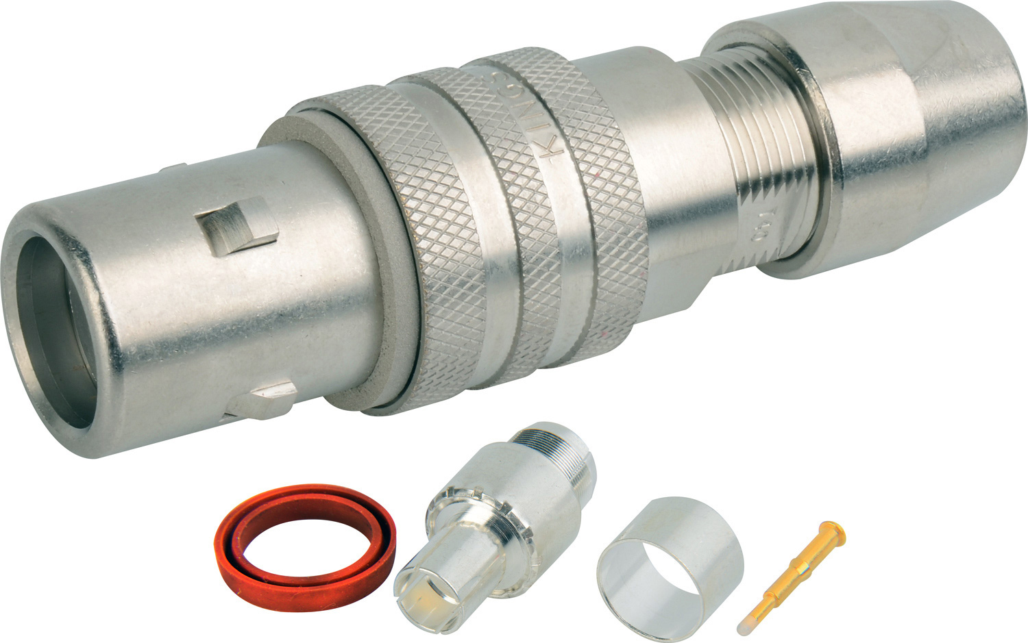 Kings Tri-Loc Female Cable End for Belden 9232 KC-77033