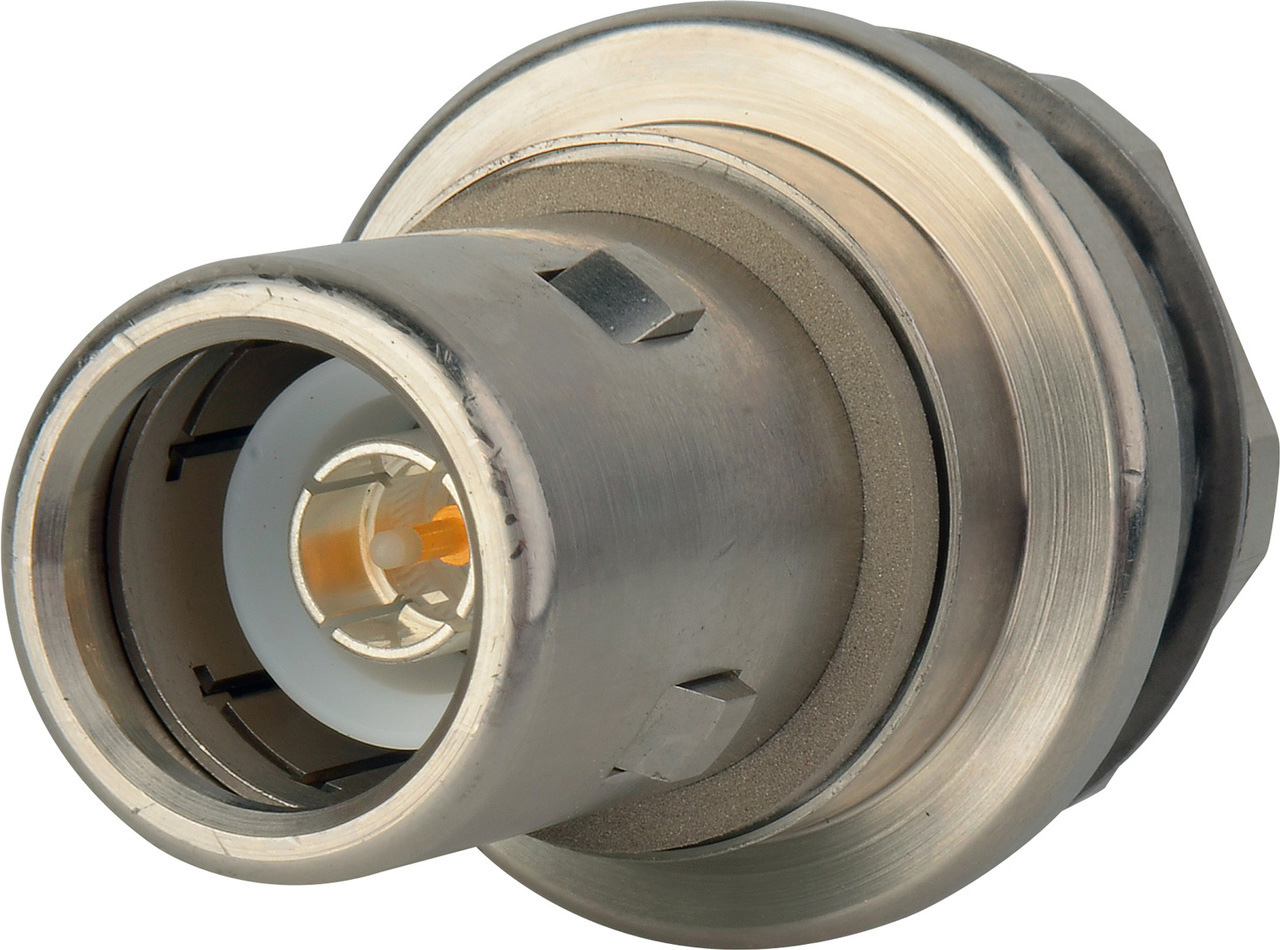 Kings 7704-6 Chassis Mount Solder Male Receptacle 1in D-hole KC-77046