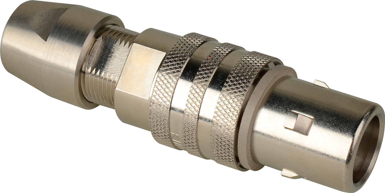 Kings Triax Tri-Loc Male Cable End for Belden 8233 KC-77051