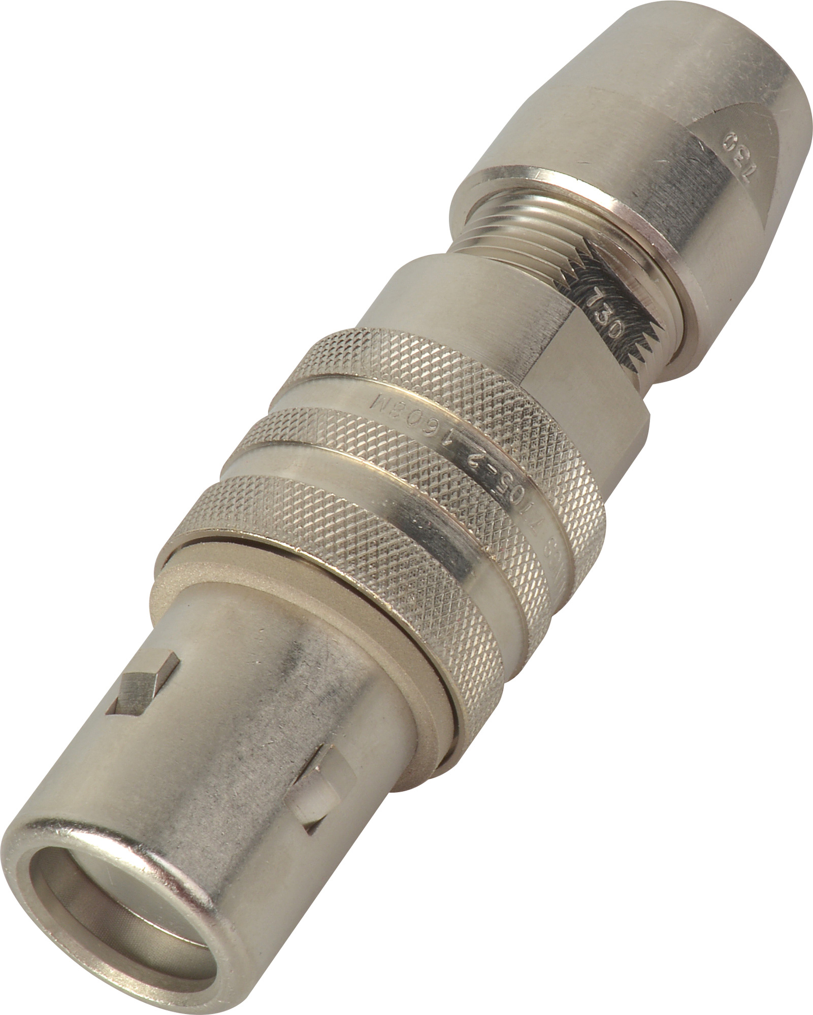 Kings 7705-2 Triax Tri-Loc Male Cable End for Belden 9267 KC-77052
