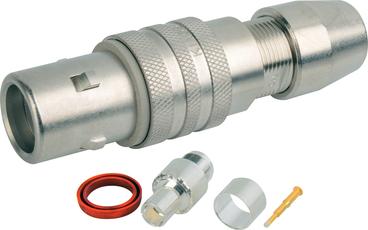 Kings Triax Tri-Loc Male Cable End for Belden 9232 KC-77053