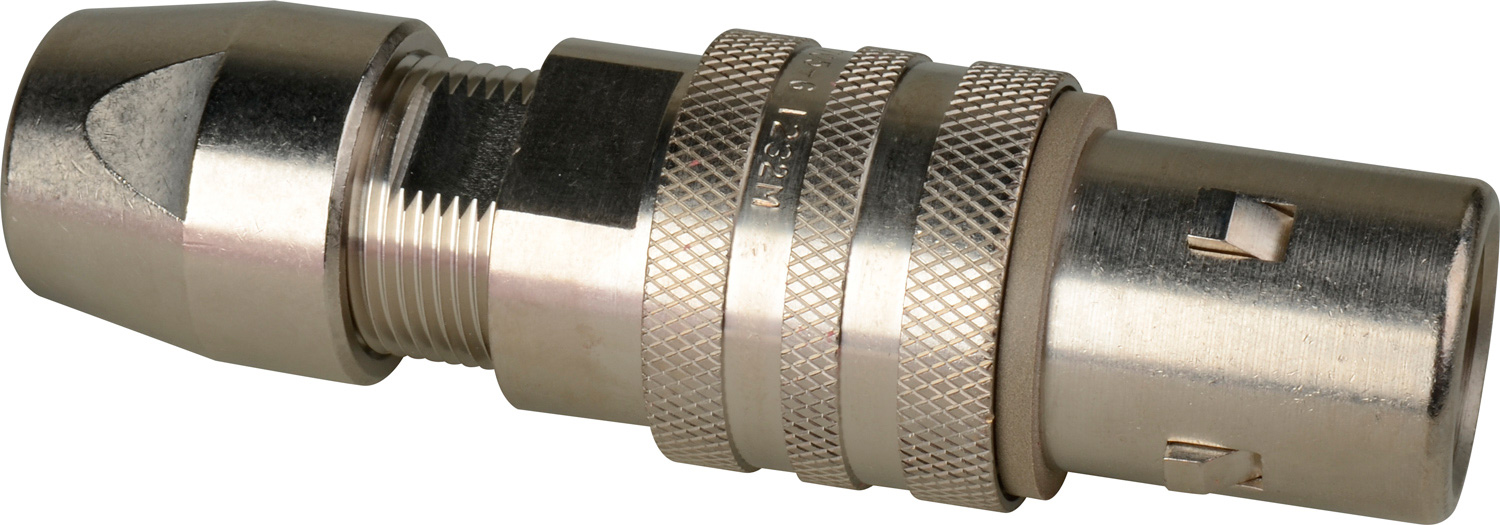 Kings 7705-6 Tri-Loc Plug Male Cable End for Belden 1859A Cable