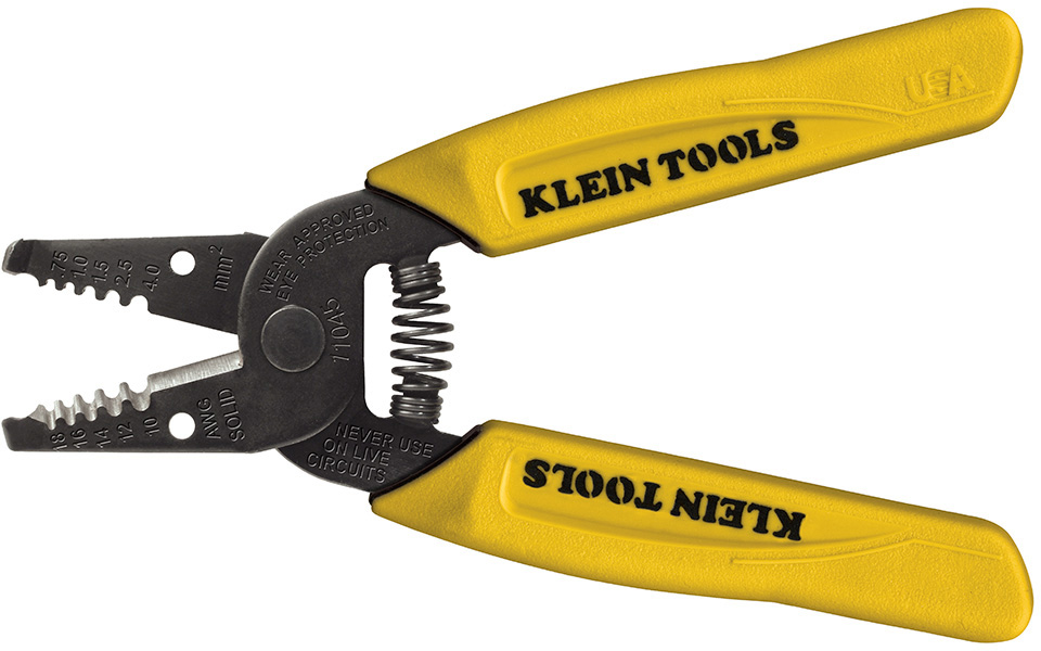 Klein Tools Solid Wire Stripper for 10-18 gauge KLT-11045