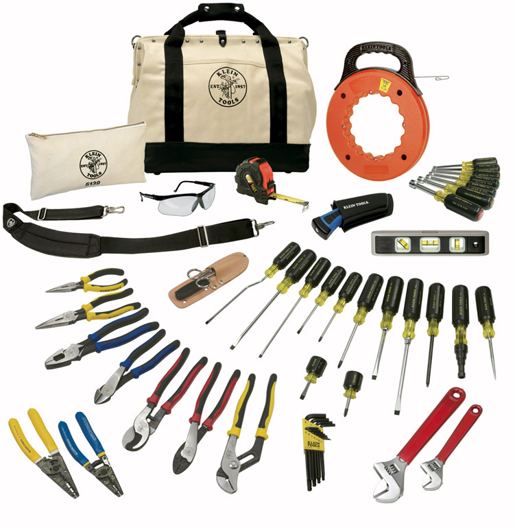 Klein Tools 41 Piece Journeyman Tool Set KLT-80141
