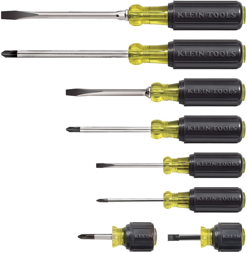 Klein Tools 8pc Cushion-Grip Screwdriver Set KLT-85078