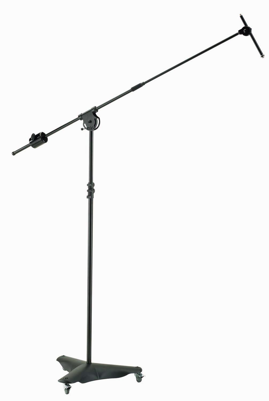 K&M 21430 Overhead Microphone Stand KM-21430