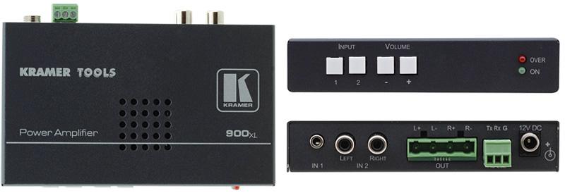 Kramer 900XL Stereo Audio Amplifier KR-900XL