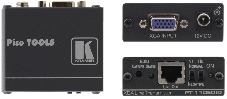 Kramer PT-110EDID Computer Graphics Video over Twisted Pair Transmitte