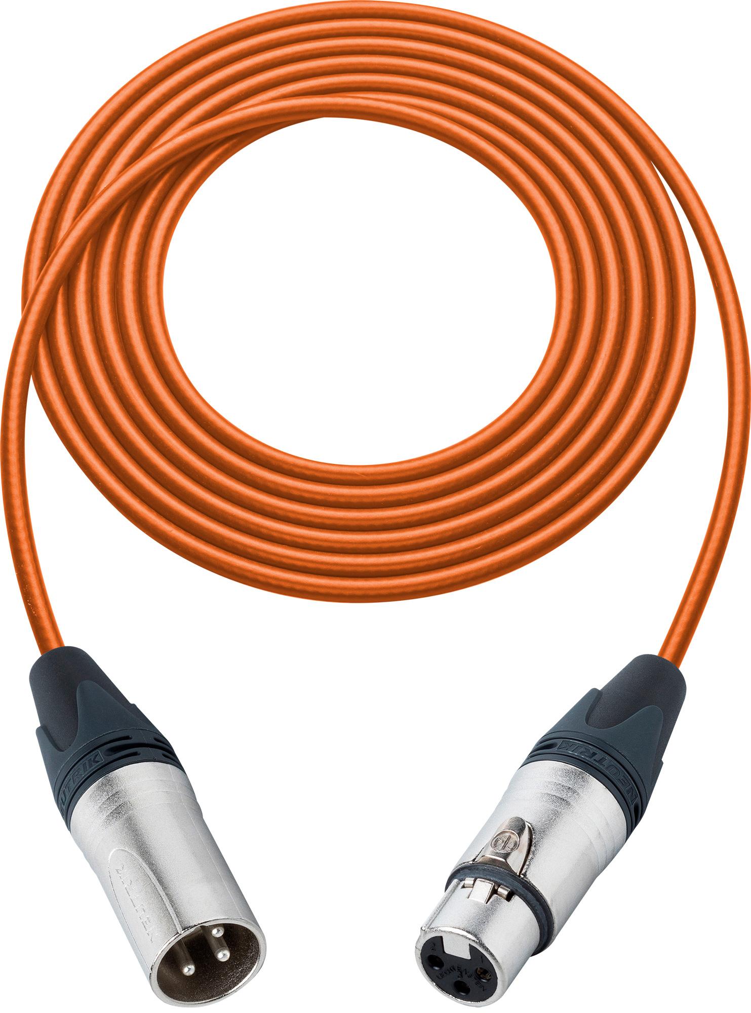 Pro Stage Series XLR Cable - 100 feet ORANGE L2-100XXJOE