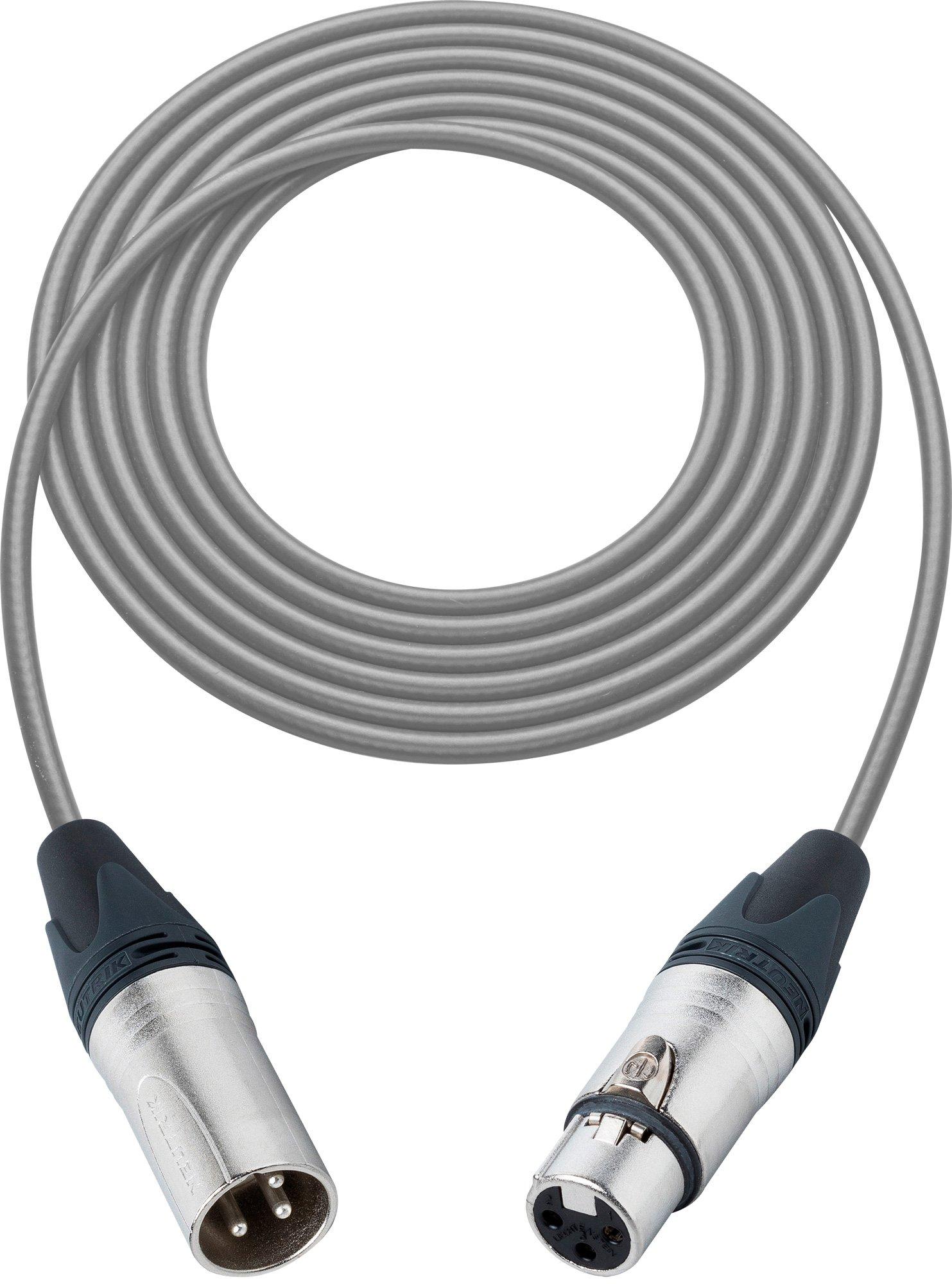 Pro Stage Series XLR Cable - 75 feet GREY L2-75XXJGY