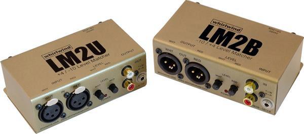 Whirlwind LM2U Balanced to Unbalanced Converter LM2U
