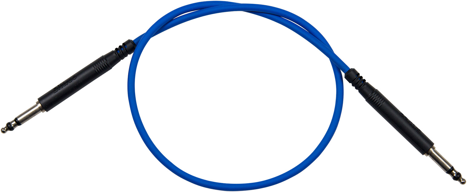 Bittree LPC3606-110 Long Frame Patchcord Nickel 36in - Blue