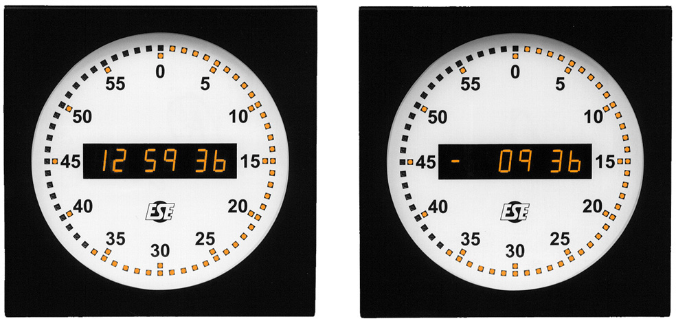 LX-5212 Self-Setting Digital / Analog Clock LX-5212