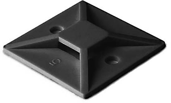 Black Tie Mount .75 x .75 100 Pack MB3A-OW-100