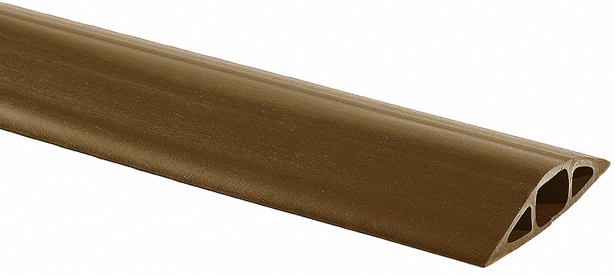 Brown Cord Ducting-1/2 x 1/4 Hole 50ft roll MCD-1 BN
