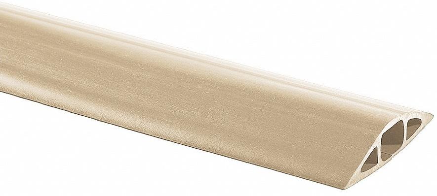 Beige Cord Ducting-1 x 3/4 Hole 25ft roll MCD-3