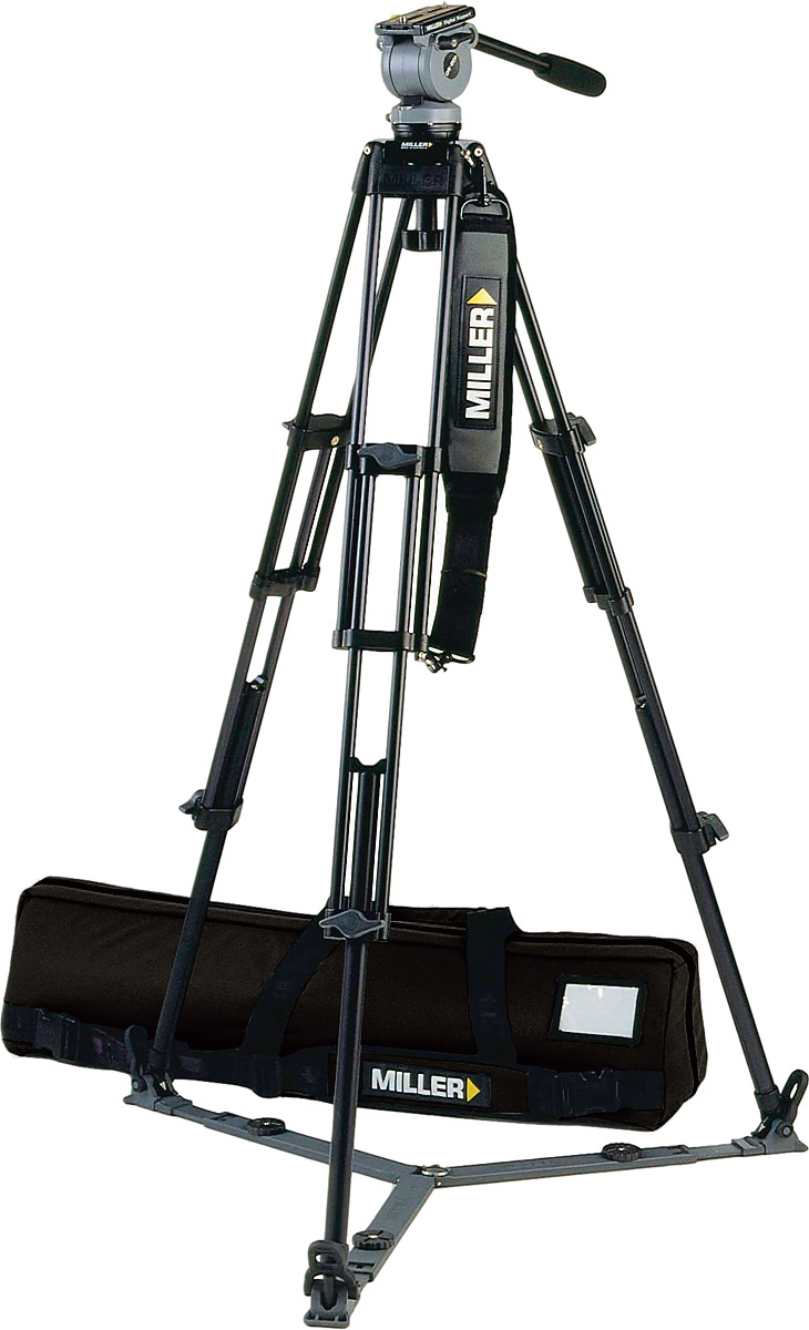 Miller 848 System DS-20 ENG w/2-Stage Aluminum Tripod 420 On-ground Sp